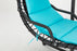 MCombo Hanging Chaise Lounger Chair Arc Stand Air Porch patio Swing Hammock Chair Canopy 1000