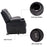 Mcombo Electric Power Lift Recliner Chair Sofa with Vibration Massage and Heat for Elderly, 3 Positions, 2 Side Pockets and Cup Holders, USB Charge Ports 7509
