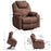 Mcombo Large Power Lift Recliner Chair with Massage and Heat for Elderly Big and Tall People, 3 Positions, 2 Side Pockets and Cup Holders, USB Ports (6160-7517)