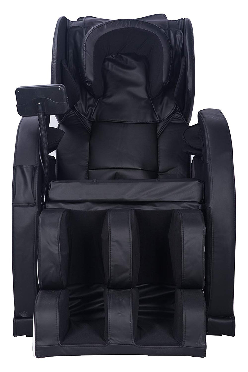 USED MCombo Electric Massage Chair Fullbody Shiatsu Recliner Heat Stretched Foot 6160-8886