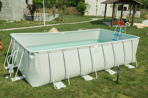 22'/18' Above Ground Family Swimming Pool Steel Frame Fast Set Pool w/Filter Pump Ladder