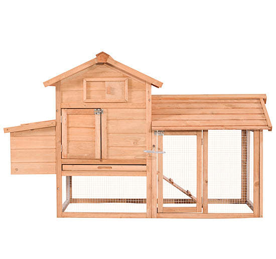 Lovupet 60'' Chicken Coop Poultry Hen house Rabbit Hutch Cage Small 6010-0313S