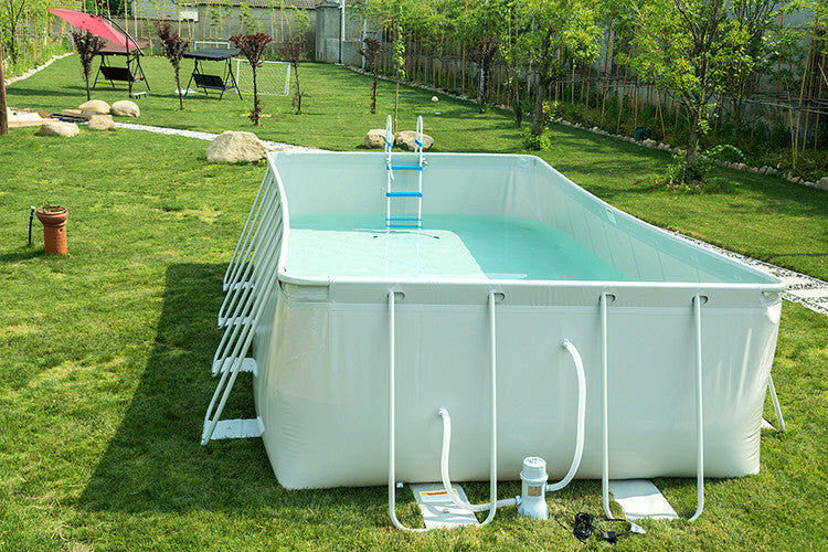 22\'/18\' Above Ground Family Swimming Pool Steel Frame Fast Set Pool  w/Filter Pump Ladder