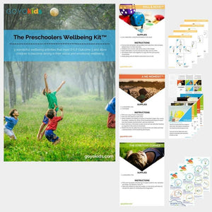 The Preschoolers Wellbeing Kit: for Outcome 3 EYLF
