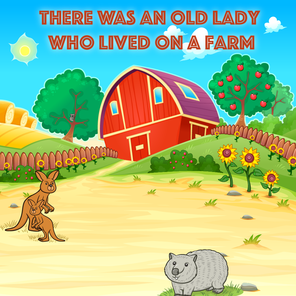 There Was An Old Lady Who Lived On A Farm