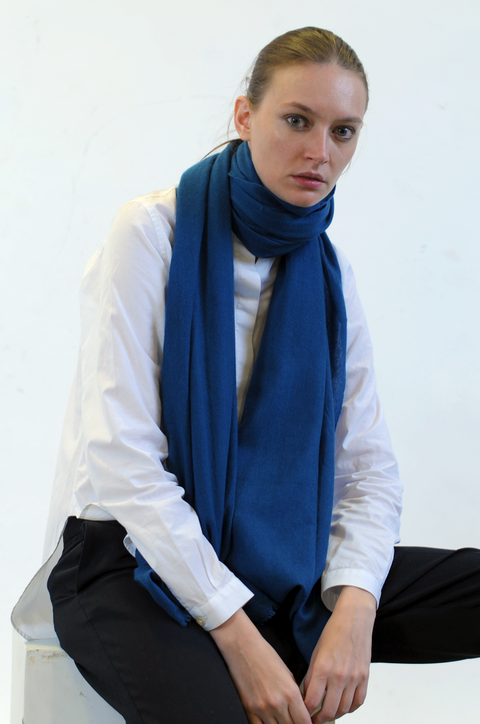 Nyhet: Scarf Classic - Morroccan Blue