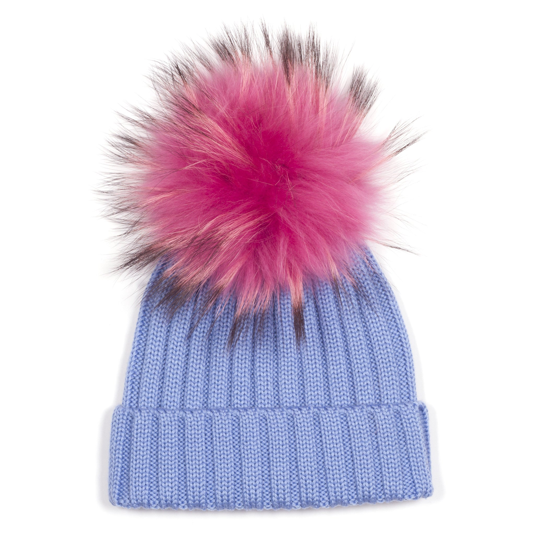 19a28002492 ... Blue Single Bobble Hat