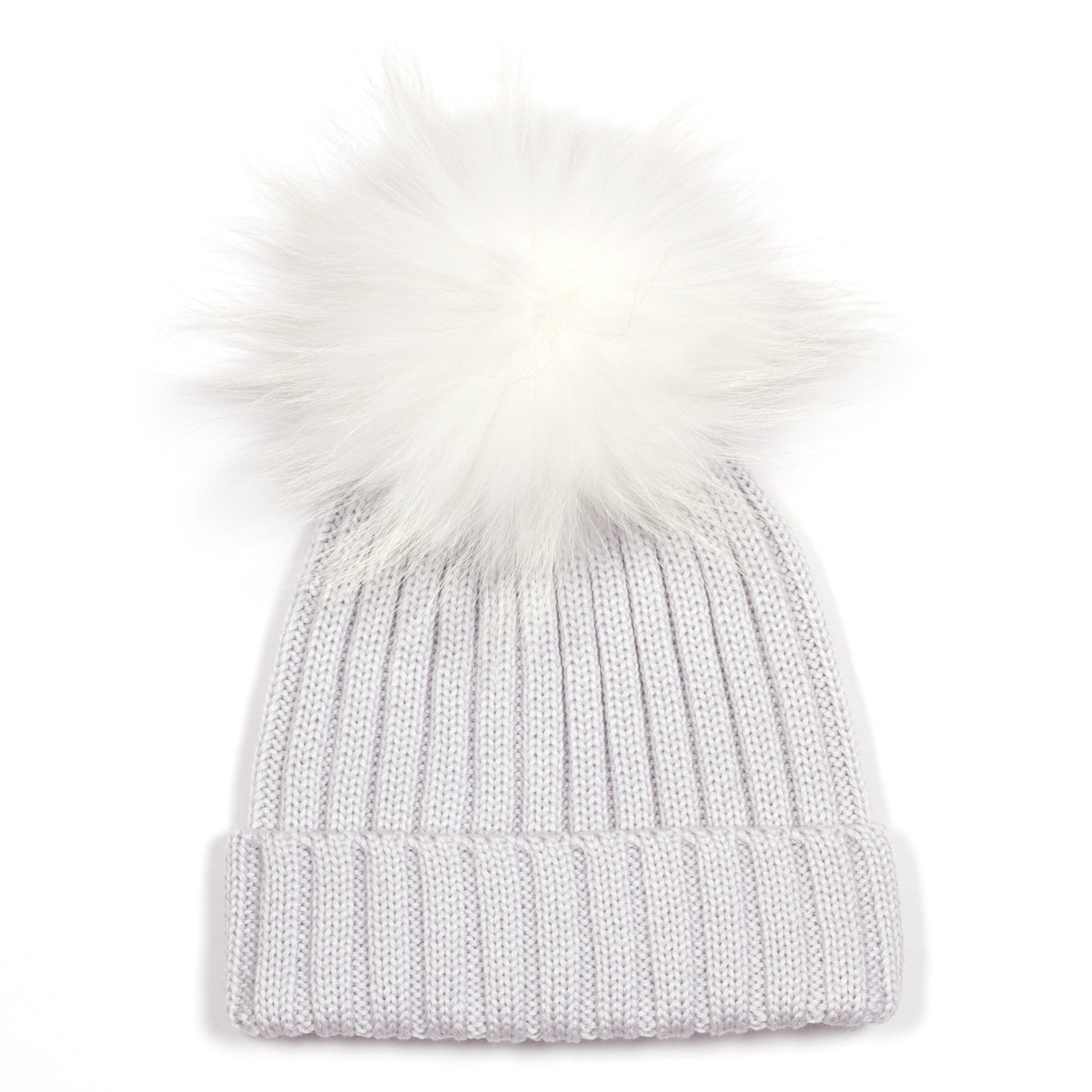 c031815648e ... Light Grey Single Bobble Hat