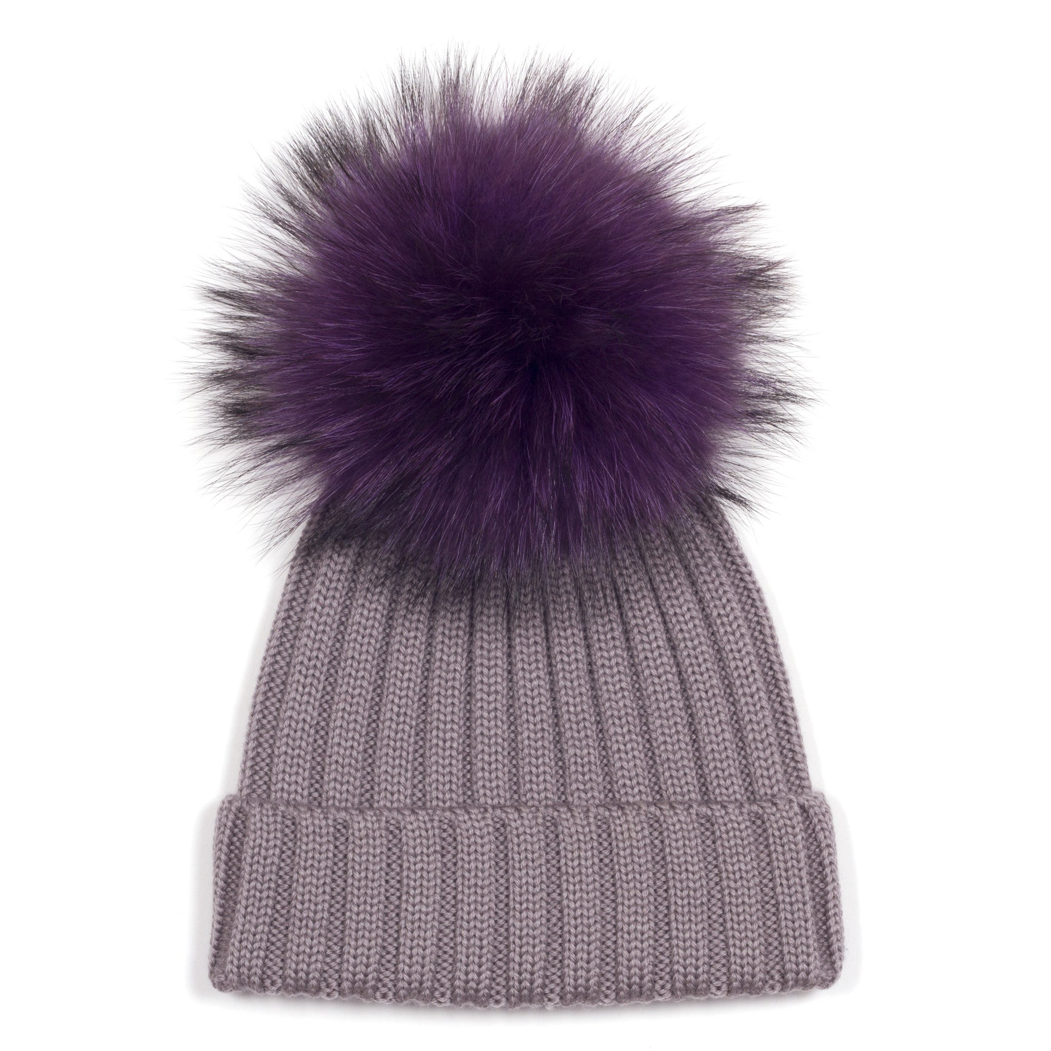 11634c09523 ... Charcoal Grey Single Bobble Hat