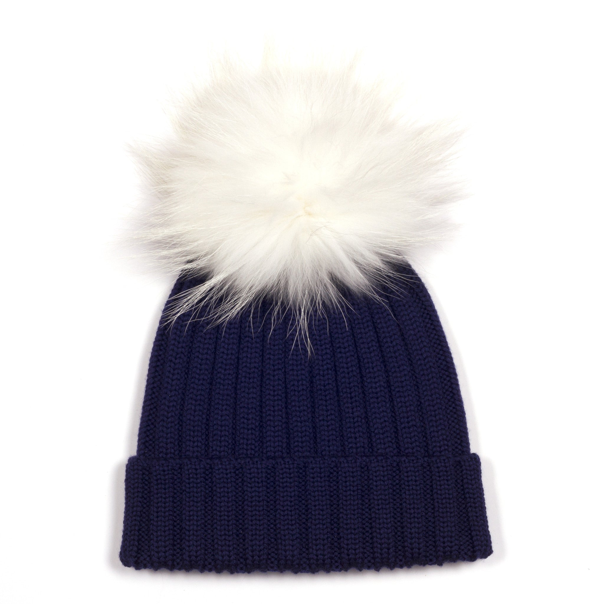 Navy Single Bobble Hat  ed2359b75fe5