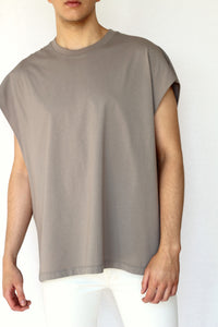 muscle t-shirt - concrete - Commun des Mortels