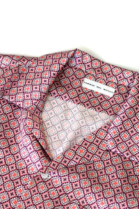 silk camp collar shirt - skagen pink - Commun des Mortels