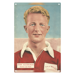 1955-10 Ivor Allchurch, Swansea, Oct 55 Metal Sign