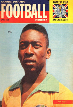 1966-04 Pele, Brazil, Apr 66 Front Cover Poster