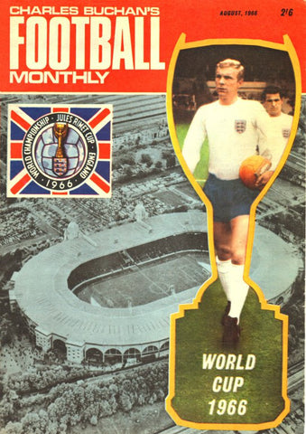 1966-08 World Cup Special Aug 66 Front Cover Poster