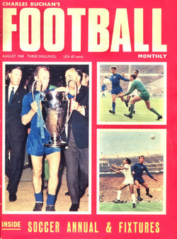 1968-08 Man Utd 1968 European Champions Front Cover Poster