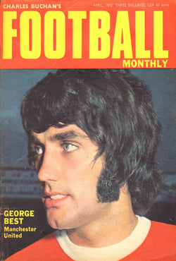 1970-04 George Best, Man Utd, Apr 70 Front Cover Poster
