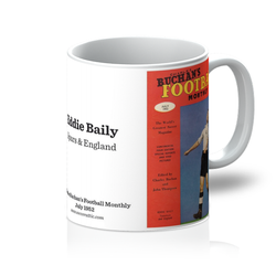 1952-07 Eddie Baily, Spurs, Jul 52 Front Cover Mug