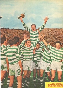 1965-07 Celtic 1965 SFA Cup Winners Poster