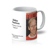 1968-12 Bobby Charlton, Man Utd, Dec 68 Front Cover Mug