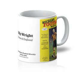 1951-10 Billy Wright, Wolves, Oct 51 Front Cover Mug