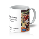 1957-05 Roger Byrne, Man Utd, May 57 Mug