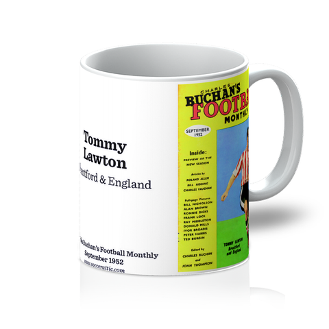 1952-09 Tommy Lawton, Brentford, Sep 52 Front Cover Mug