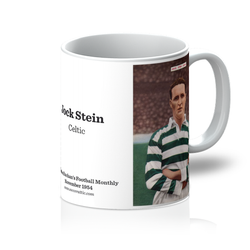 1954-11 Jock Stein, Celtic, Nov 54 Mug