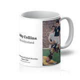 1955-08 Bobby Collins, Celtic, Aug 55 Mug