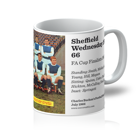 1966-07 Sheff Wed Team 1965-66 Mug