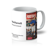 1957-09 Peter Farrell, Everton, Sep 57 Front Cover Mug