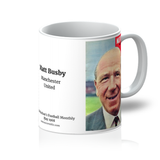 1968-05 Matt Busby, Man Utd, May 68 Mug