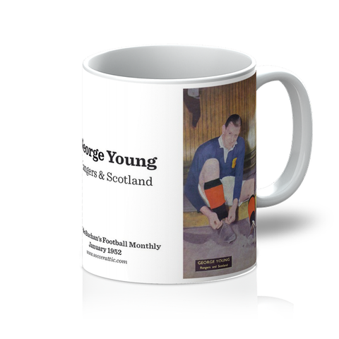 1952-01 George Young, Rangers, Jan 52 Mug