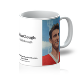 1958-08 Brian Clough, Middlesbrough, Aug 58 Mug