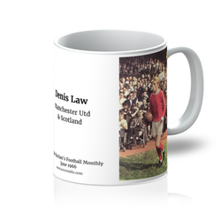 1966-06 Denis Law, Man Utd, Jun 66 Mug