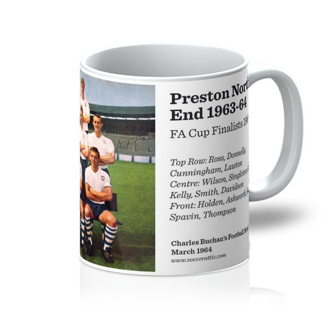 1964-03 Preston North End Team 1963-64 Mug