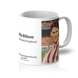 1954-06 Billy Elliott, Sunderland, Jun 54 Mug