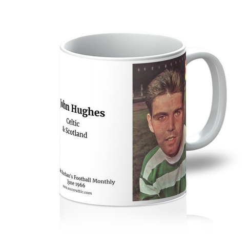 1966-06 John Hughes, Celtic, Jun 66 Mug
