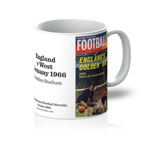 1966-10 England World Cup Oct 66 Front Cover Mug