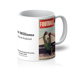 1956-12 Bert Williams, Wolves, Dec 56 Front Cover Mug