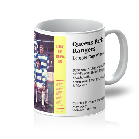1967-05 Queens Park Rangers Team 1967 Mug