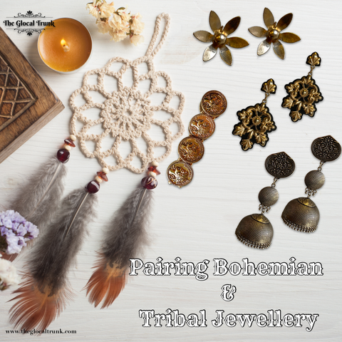 Pairing Bohemian and Tribal Jewellery