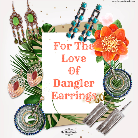 For The Love Of Dangler Earrings