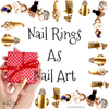 Nail Rings As Nail Art