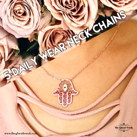 5 DAILY WEAR NECK CHAINS