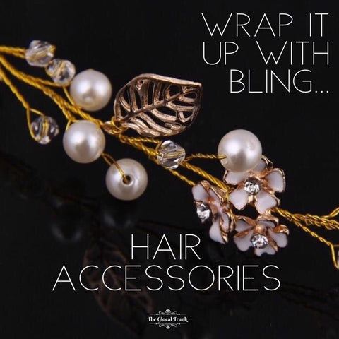 Wrap It Up With Bling...TGT Hair Accessories!!!