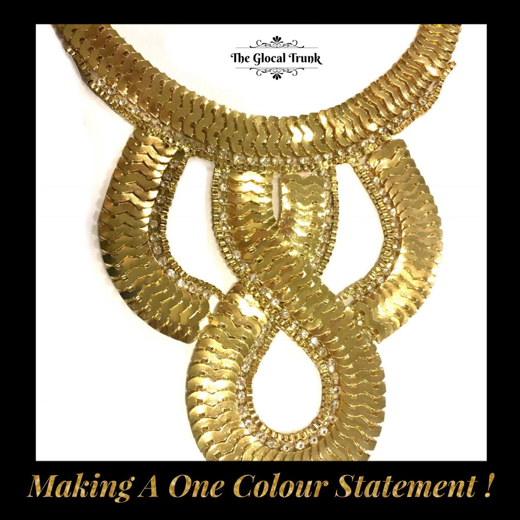 Making A One Colour Statement!