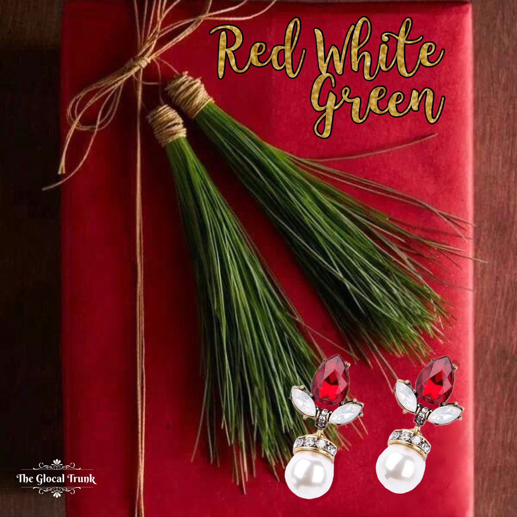 Xmas Cheer With Red, White & Green!