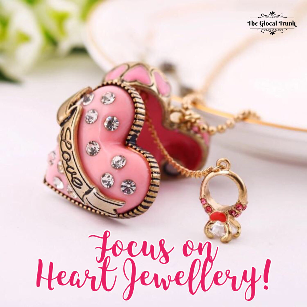Focus on Heart Shaped Jewellery <3