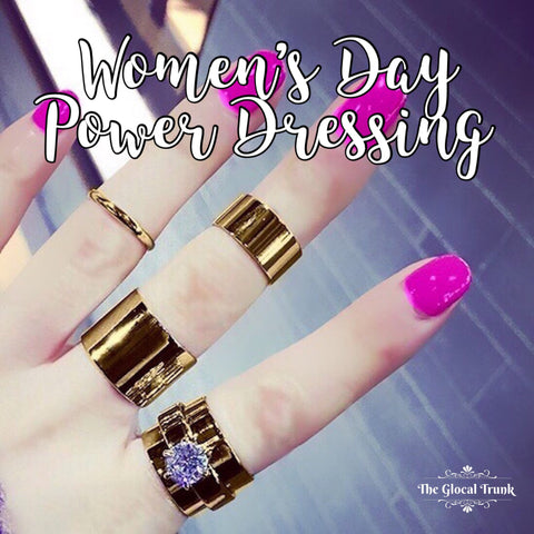 Women's Day Power Dressing!
